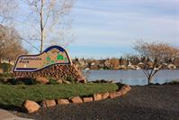 Picture of Calif. Park Entrance Sign on Lakewest Drive at Lower Lake - January 14, 2011